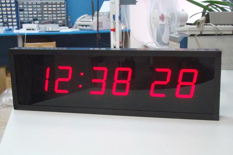 ЦПВ цифровые часы с секундами