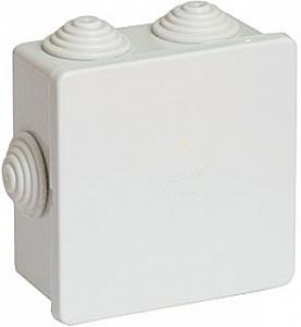 Коробка 80х80х40 IP44 Коробка ответвительная с 6 кабельными вводами