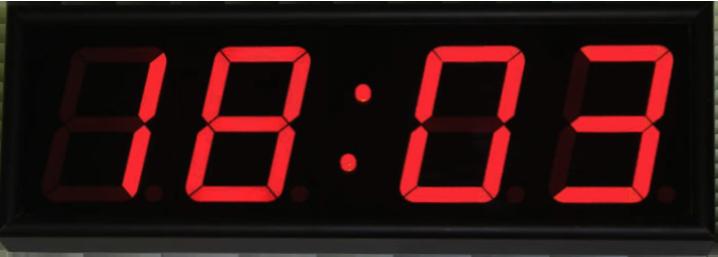 P-100b-R вторичные ведомые электронные часы